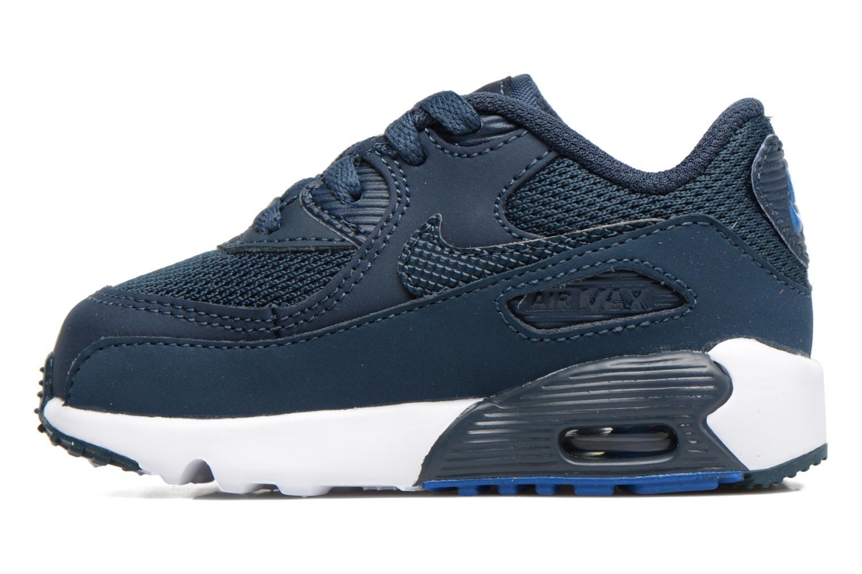 Sneaker Nike NIKE AIR MAX 90 MESH (TD) blau ansicht von vorne