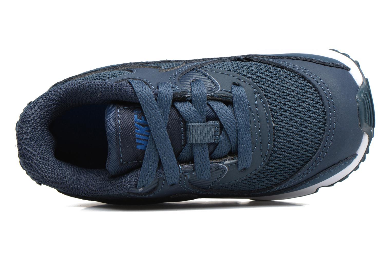 Sneaker Nike NIKE AIR MAX 90 MESH (TD) blau ansicht von links