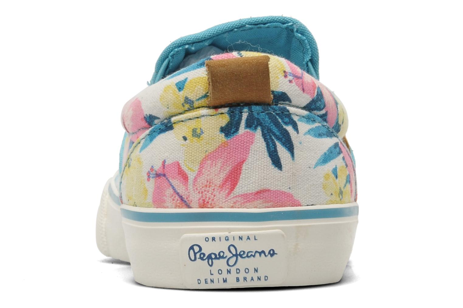 Trainers Pepe jeans Traveler Multicolor view from the right