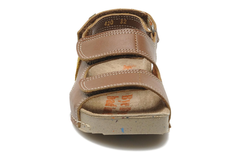 Sandales et nu-pieds Art A420 Play Marron vue portées chaussures