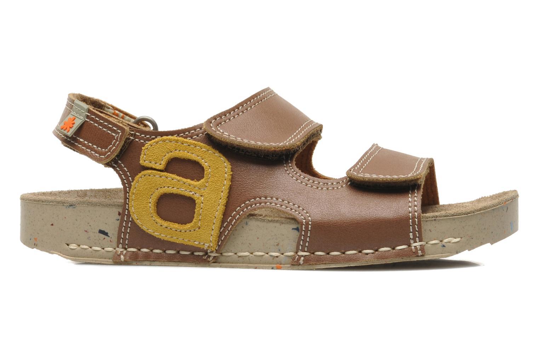 Sandales et nu-pieds Art A420 Play Marron vue derrière