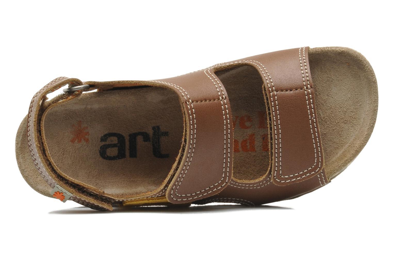Sandales et nu-pieds Art A420 Play Marron vue gauche