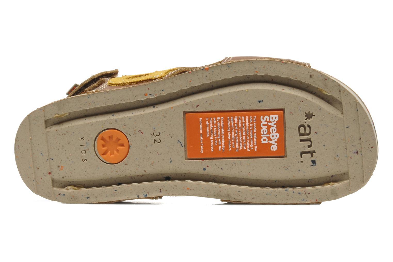 Sandales et nu-pieds Art A420 Play Marron vue haut