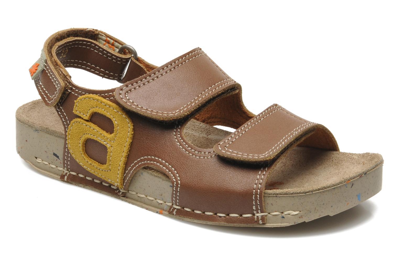 Sandales et nu-pieds Art A420 Play Marron vue détail/paire