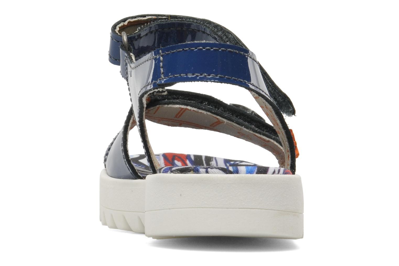 Sandales et nu-pieds Art A311 Atenas Bleu vue droite