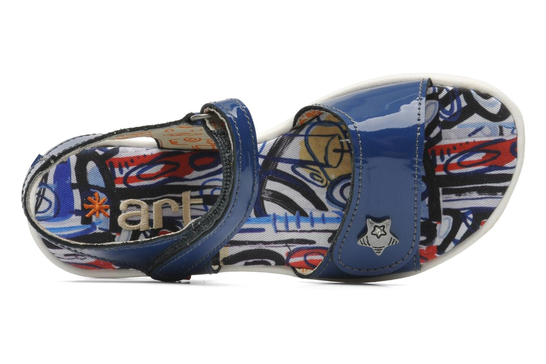 Sandales et nu-pieds Art A311 Atenas Bleu vue gauche