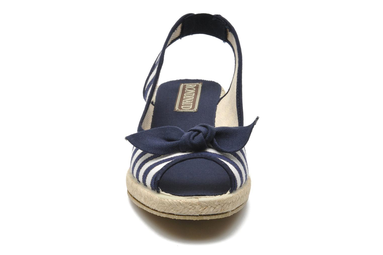 Sandalen Rondinaud Kama blau schuhe getragen
