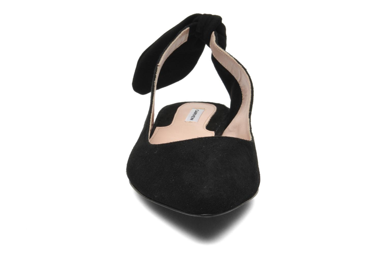 Ballerines Carven Carvin Noir vue portées chaussures