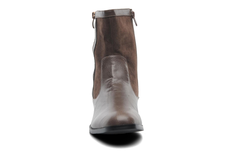 Bottines et boots Divine Factory D-sweet Gris vue portées chaussures
