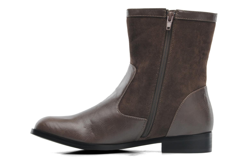 Stiefeletten & Boots Divine Factory D-sweet grau ansicht von vorne