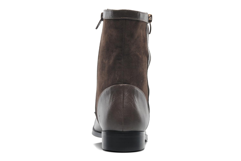 Bottines et boots Divine Factory D-sweet Gris vue droite