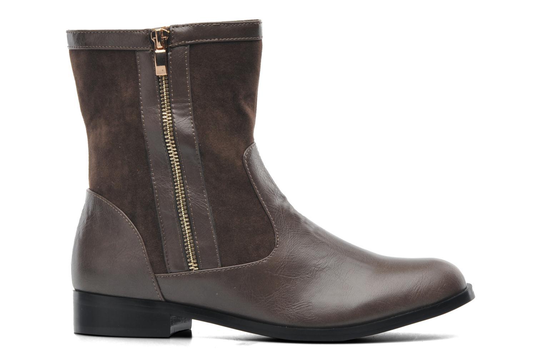 Stiefeletten & Boots Divine Factory D-sweet grau ansicht von hinten