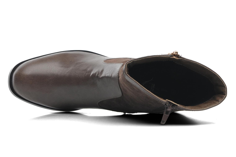 Stiefeletten & Boots Divine Factory D-sweet grau ansicht von links