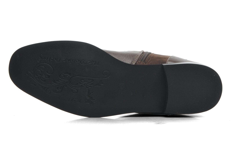 Stiefeletten & Boots Divine Factory D-sweet grau ansicht von oben