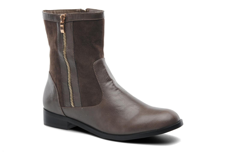 Bottines et boots Divine Factory D-sweet Gris vue détail/paire