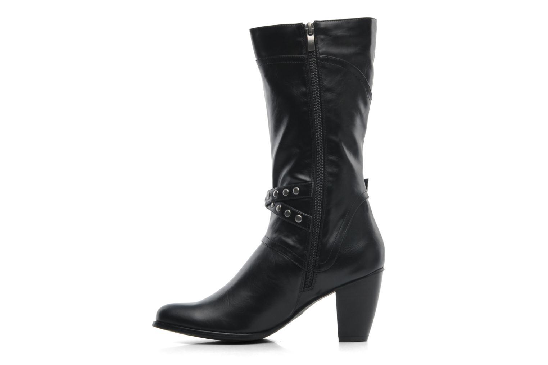Boots en enkellaarsjes Divine Factory D-miss Zwart voorkant