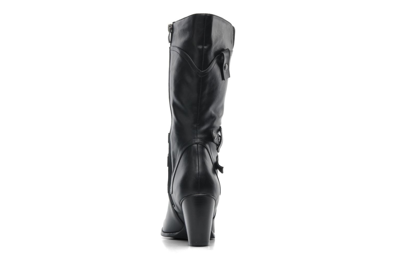 Boots en enkellaarsjes Divine Factory D-miss Zwart rechts