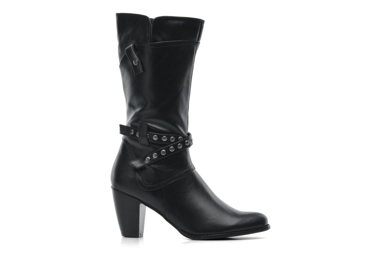Boots en enkellaarsjes Divine Factory D-miss Zwart achterkant