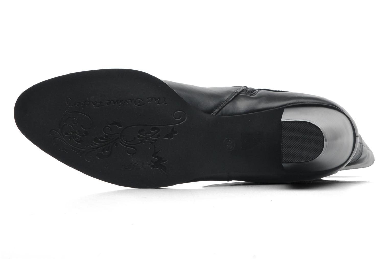 Stiefeletten & Boots Divine Factory D-miss schwarz ansicht von oben