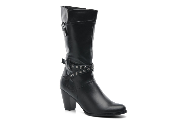 Boots en enkellaarsjes Divine Factory D-miss Zwart detail