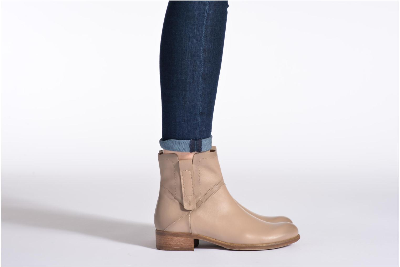 Stiefeletten & Boots Manas Malici beige ansicht von unten / tasche getragen