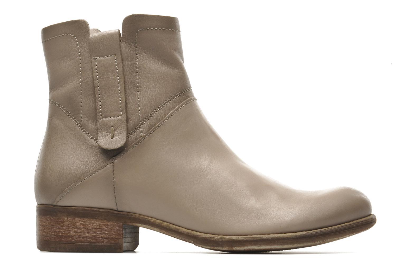 Boots en enkellaarsjes Manas Malici Beige achterkant