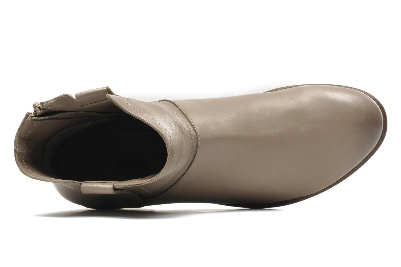 Stiefeletten & Boots Manas Malici beige ansicht von links