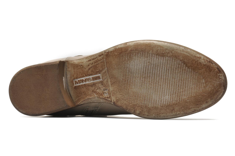 Stiefeletten & Boots Manas Malici beige ansicht von oben