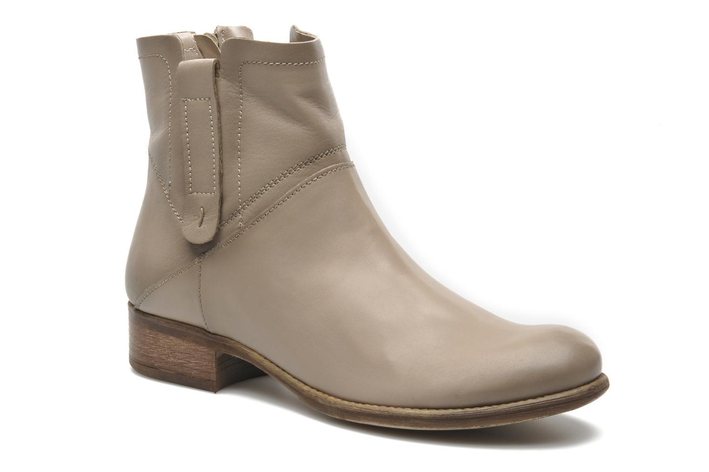 Boots en enkellaarsjes Manas Malici Beige detail