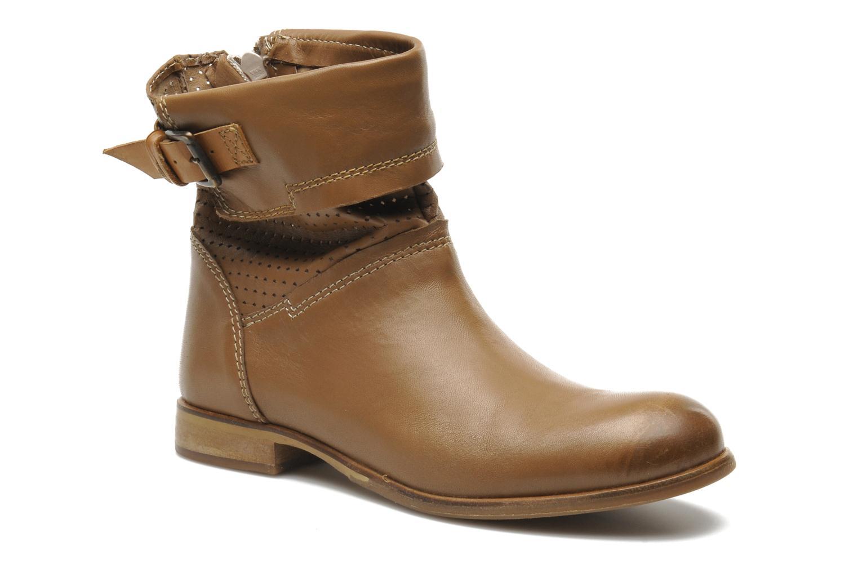 Bottines et boots Manas Maecom Marron vue détail/paire
