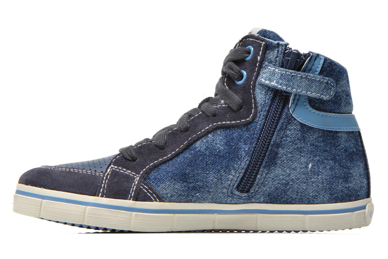 Sneaker Geox J Kiwi B. D J52A7D blau ansicht von vorne