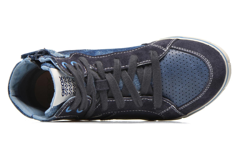 Sneaker Geox J Kiwi B. D J52A7D blau ansicht von links