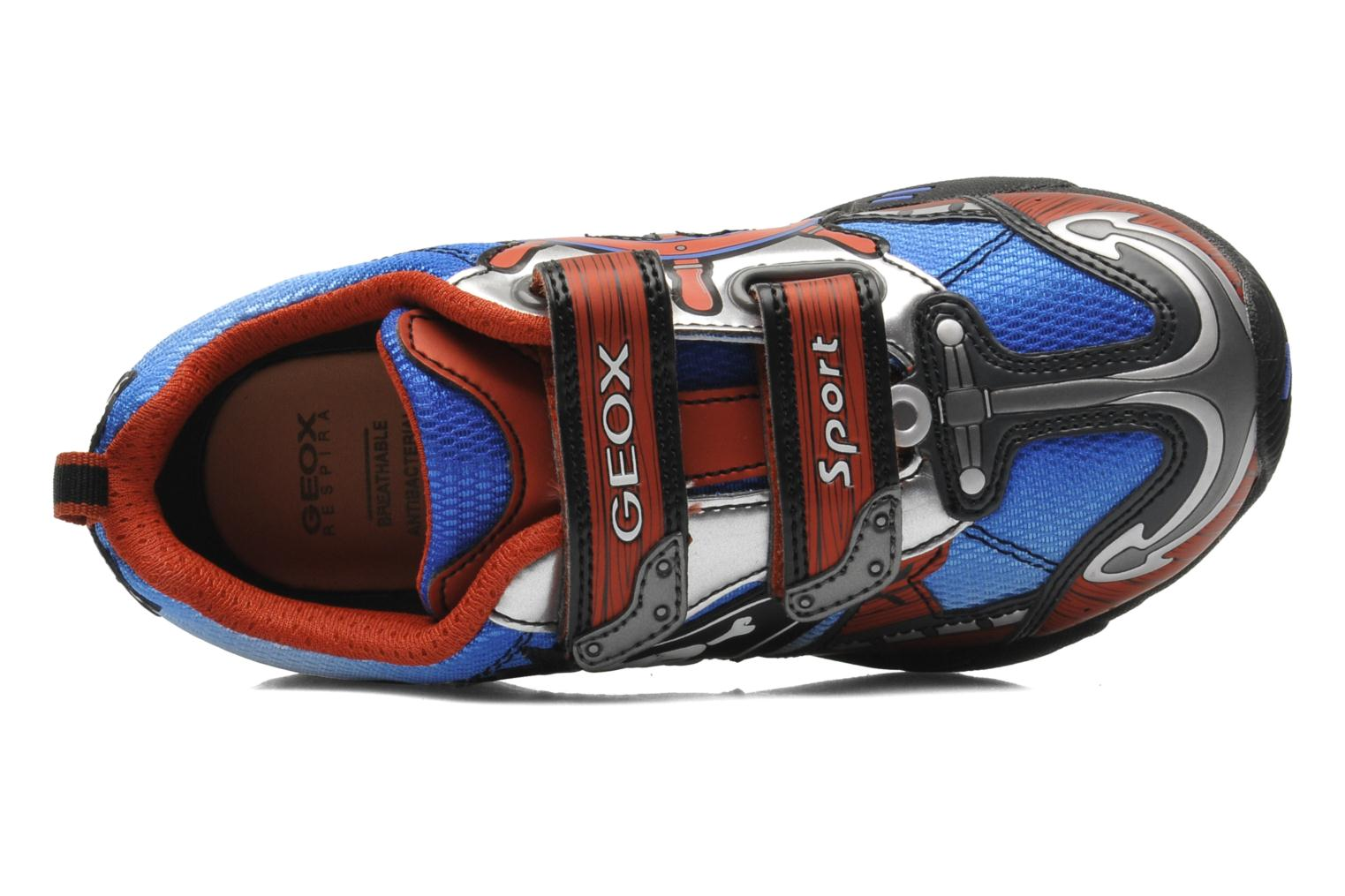 Sneakers Geox J LT ECLIPSE B - MESH+DBK ST. Multicolor links