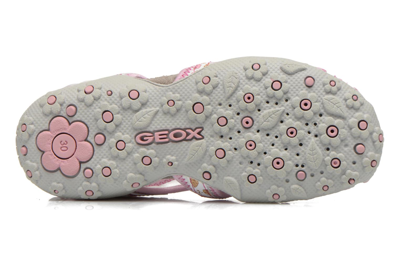 Sandalen Geox J S.Roxanne C J52D9C Wit boven