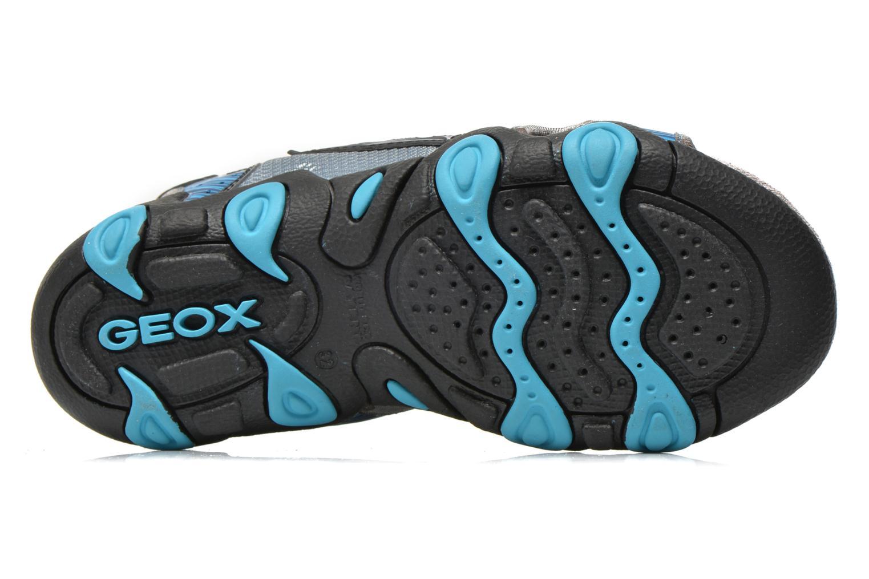 Sandalen Geox J SAND.STRIKE D - MESH+DBK ST Blauw boven