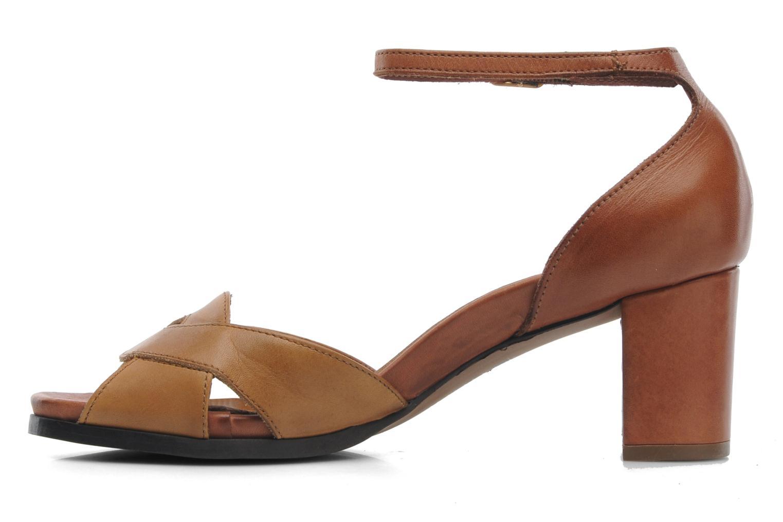Sandales et nu-pieds Neosens Moll 487 Marron vue face