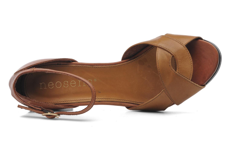 Sandales et nu-pieds Neosens Moll 487 Marron vue gauche