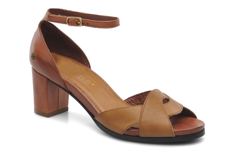Sandales et nu-pieds Neosens Moll 487 Marron vue détail/paire