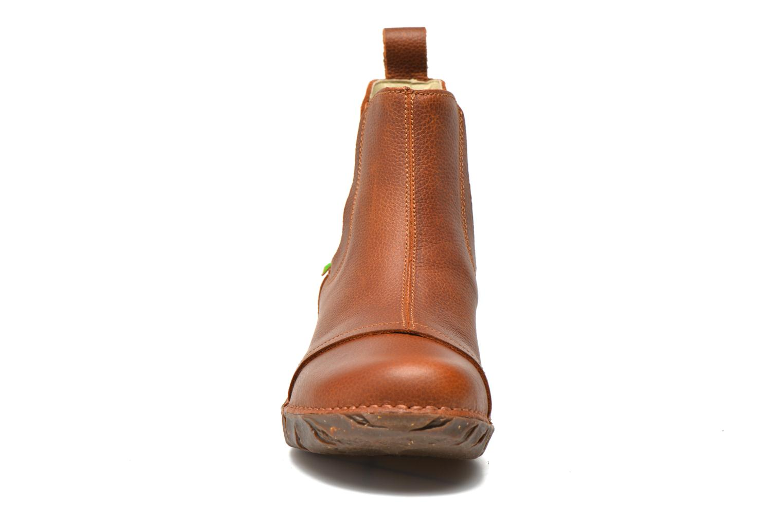 Bottines et boots El Naturalista Yggdrasil N158 Marron vue portées chaussures