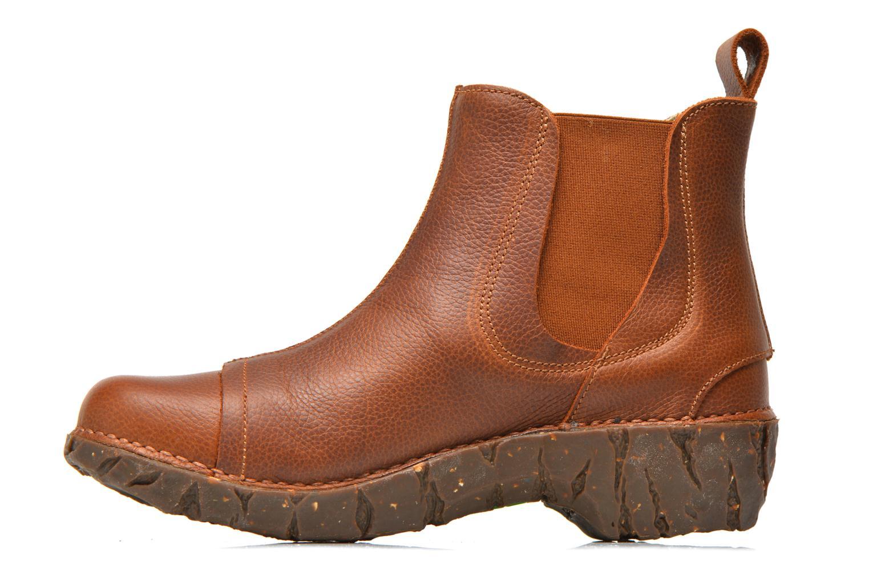 Bottines et boots El Naturalista Yggdrasil N158 Marron vue face