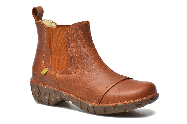 Bottines et boots El Naturalista Yggdrasil N158 Marron vue détail/paire