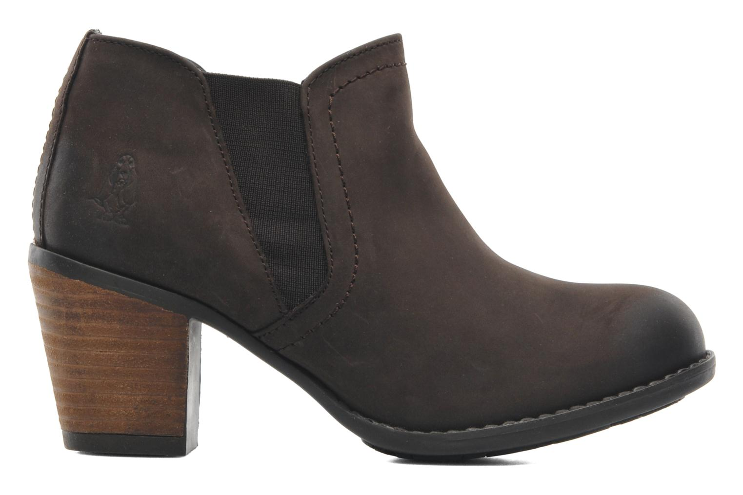Bottines et boots Hush Puppies Moorland Chelsea Marron vue derrière