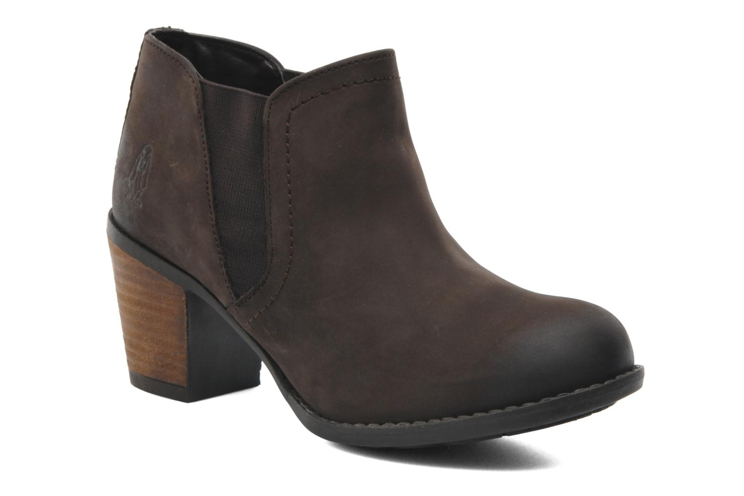 Bottines et boots Hush Puppies Moorland Chelsea Marron vue détail/paire