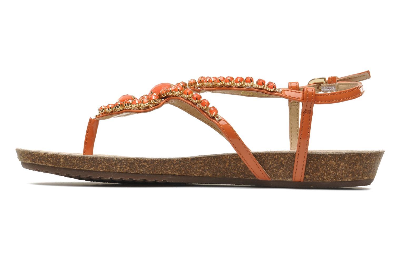 Sandales et nu-pieds Geox D VINCA F-D5297F Orange vue face