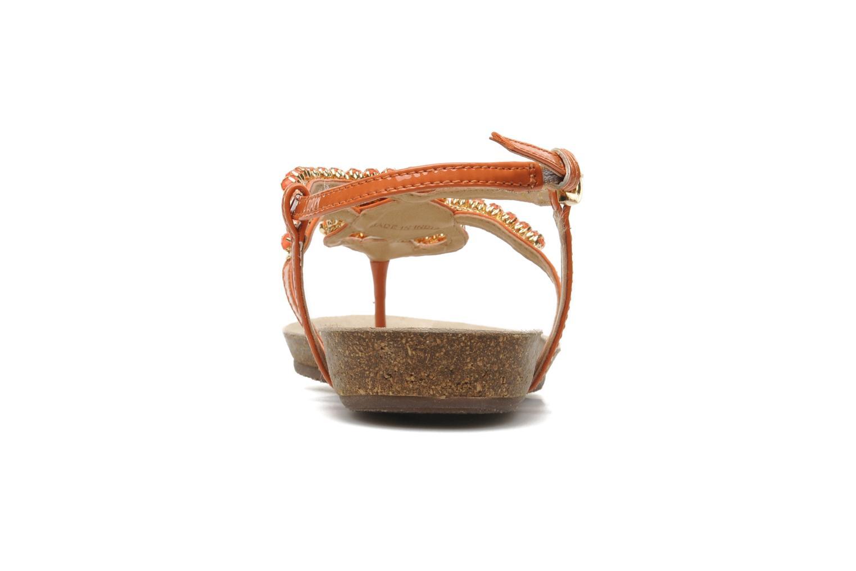 Sandales et nu-pieds Geox D VINCA F-D5297F Orange vue droite