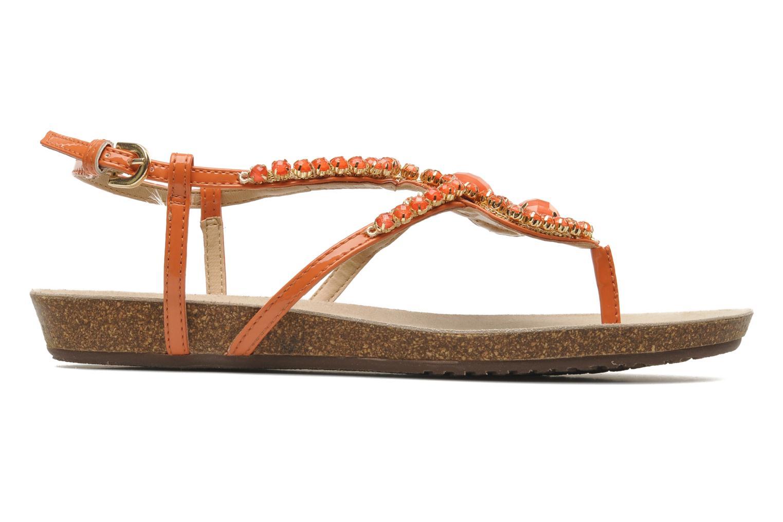 Sandales et nu-pieds Geox D VINCA F-D5297F Orange vue derrière