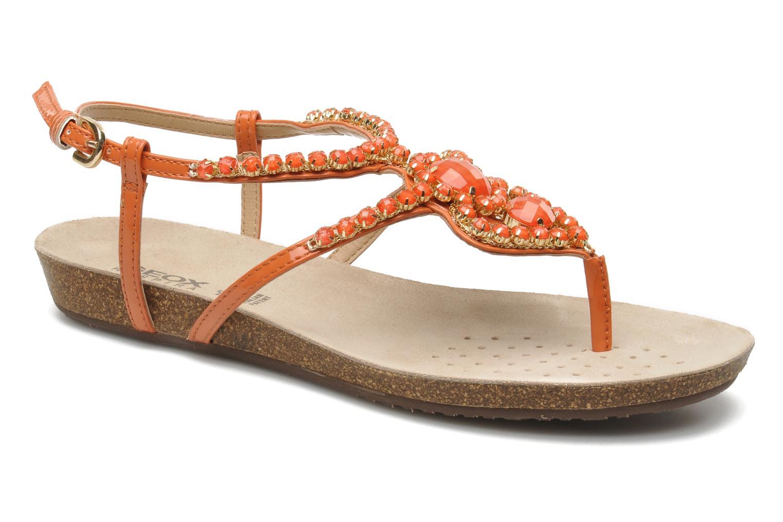 Sandales et nu-pieds Geox D VINCA F-D5297F Orange vue détail/paire