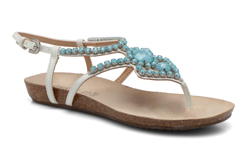 Sandales et nu-pieds Geox D VINCA F-D5297F Blanc vue détail/paire