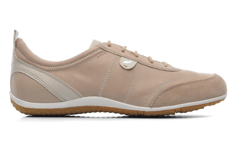 Sneaker Geox D VEGA A D3209A beige ansicht von hinten