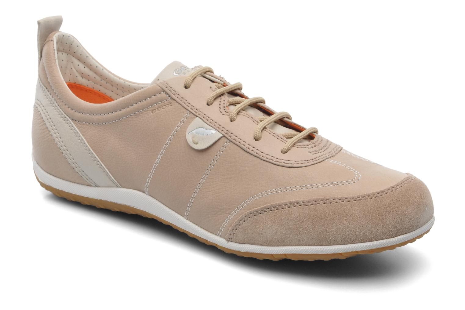 Trainers Geox D VEGA A D3209A Beige detailed view/ Pair view